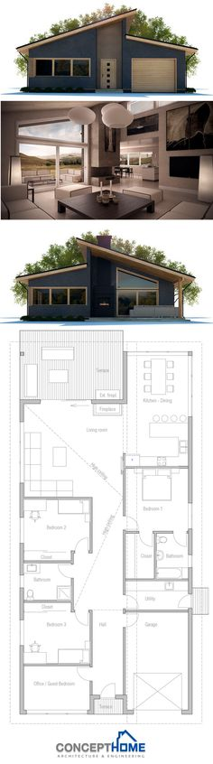 33 best Plan 2d images on Pinterest Architectural drawings - Logiciel De Plan De Maison 3d Gratuit