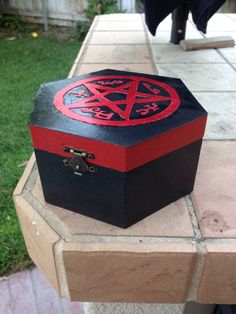 Supernatural Devil's Trap  Hand Decorated Wooden by FandorasBox, $14.99