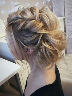 Beautiful Wedding Hairstyle! find your dream wedding gown www.customdreamgowns.com!