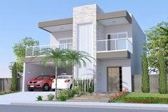 Plano de casa con piscina y terraza