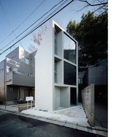 Ultra-narrow House in Tokyo