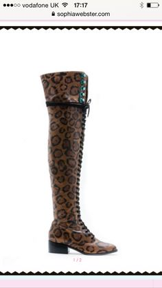 Oh Sophia Webster you have created my dream boot