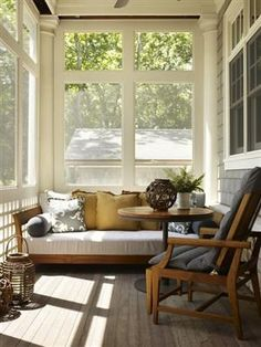 streetofsoulangels:    (via In Out! / small screened porch - ..)
