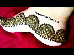 Beautiful Easy Mehndi Design For Beginners:Learn How To Draw Mehendi Tattoo by MehndiArtistica - YouTube