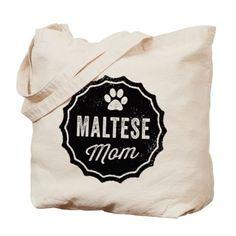 Maltese Mom Tote Bag!