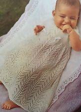 Knitting Pattern for Christening Robe / Dress