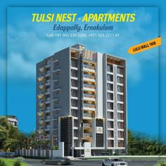 Apartments in Kochi — Luxury Apartments in Cochin — Kerala You can own the apartments in Cochin easily now!! Tulsi developers, the trusted builder in Kerala offers new and modernized apartments in Cochin. The Tulsi developers all Kochi apartments are very well organized and structured.