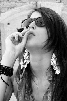 Citadel girls Girl Smoking, Diamond Earrings, Dangles, Smoke, Jewelry, Girls, Fashion, Toddler Girls, Moda