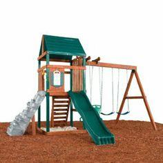 Brentwood Swing Set by Swing N Slide