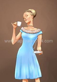 Illustrator, Fill, Cinderella, Disney Characters, Fictional Characters, Layout, Disney Princess, Fashion, Moda