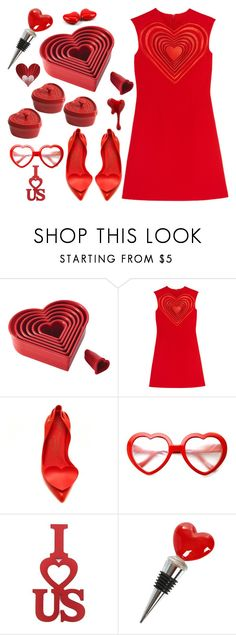 """""""Find your heart in my group contests"""" by didesi ❤ liked on Polyvore featuring Cake Boss, Christopher Kane, ZeroUV, Staub, WALL and The Just Slate Company"""