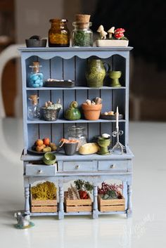 Жизни Размер 1:12: Estherin кухня