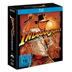 Indiana Jones The Complete Adventures [Blu-ray]