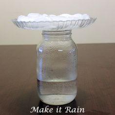 Rain in a Jar // science // pre-k activity