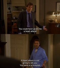 House and Wilson. They remind me of another bromance tv coupling ...