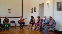 Córdoba --Talleres- ensayo  de flamenco la corredera - caracoles alegrías