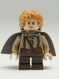 Lego The Lord Of The Rings: Samwise Gamgee Minifigure With Grey Cape by LEGO. $8.05. Figure is less than 2 inches tall. LEGO Lord of the Rings Minifgure and Accessories as shown. Brand New Minifigure repacked straight from the original Lego set.