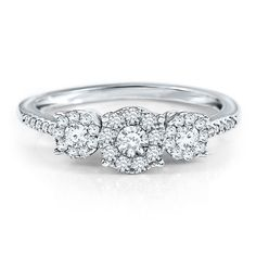 This is going to be my engagement ring for sure. 1/2 ct. tw. Three-Stone Diamond Ring in 10K Gold