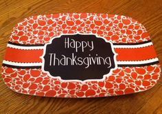 Thanksgiving Platter and enjoy 10% off items from Savvy Charms Boutique by using the coupon code holidayhelpings10