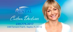 Dentures do much more than restore your ability to eat the foods you love again! You could look years younger with the right pair of custom dentures from Gulfside Dental.