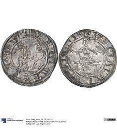 Rom: Stadt Münze 1256-1265 Land: Italien (Land) Region: Latium (Region) Münzstätte/Ausgabeort: Rom Nominal: Grosso, Material: Silber, Druckverfahren: geprägt Gewicht: 3,31 g Durchmesser: 25 mm