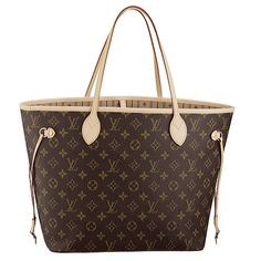 Louis Vuitton Neverfull MM Alyson Hannigan has the Neverful in a medium size, which is equally brilliant as the other two sizes available in this particular style