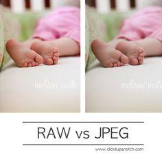 RAW vs JPEG via Click it Up a Notch