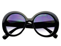 Womens Oversized Round Sunglasses Black O271 Cheap Sunglasses, Cat Eye Sunglasses, Oversized Round Sunglasses, Beauty, Design, Women, Beauty Illustration, Woman