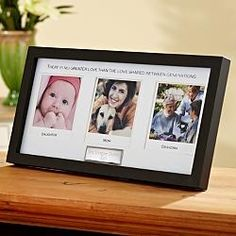 father's day or mother's day Gift Idea: generations picture frame