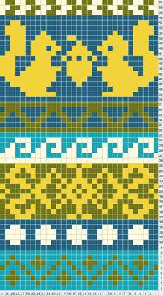 folk scarf motif6