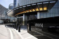 Classy hotel architecture design by Armani Hotel, Dubai.