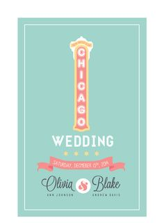 chicago themed wedding - Google Search