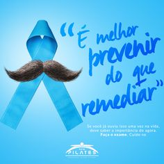 Campanha Novembro Azul - New Pilates on Behance                                                                                                                                                                                 Mais
