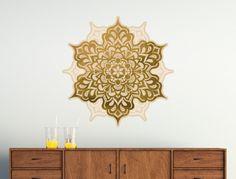 Wandtattoo Elegante Mandala Blüte
