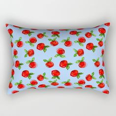 Buy Watercolor tangerine blue #homedecor #spring #fruit #watercolor Rectangular Pillow by susycosta. Worldwide shipping available at Society6.com. Just one of millions of high quality products available.