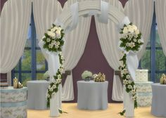 Lana CC Finds — Wedding Arch by The Shed (Sims 4) So here are a...