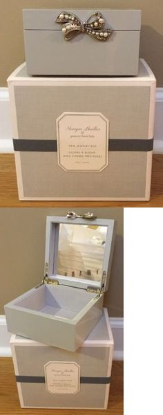 Bedroom Playroom and Dorm D cor 115970: New Pottery Barn Kids Monique Lhuillier Gem Jewelry Box Small Gray -> BUY IT NOW ONLY: $44.99 on eBay!