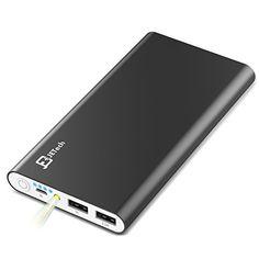 Power Bank, JETech® 10,000mAh 2-Output Portable External Power Bank Battery Charger Pack for iPhone 6/5/4, iPad, iPod, Samsung Devices, Smart Phones, Tablet PCs - Black JETech http://www.amazon.com/dp/B00T415OTS/ref=cm_sw_r_pi_dp_5fzFvb11RPRHM