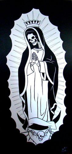 La Santa Muerte by Chad Landenberger