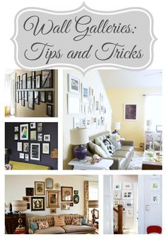 Wall Galleries Tips and Tricks - Up to Date Interiors