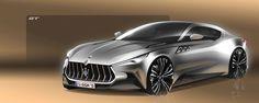 Maserati GT on Behance