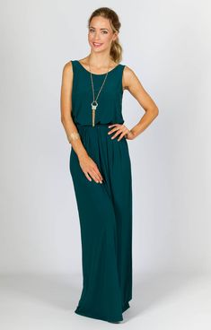 Tara Maxi Dress - Emerald - P.S. Frocks