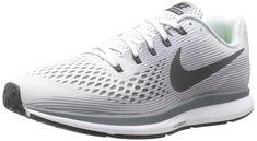 buy popular 2a041 5c4ef NIKE Mens Air Zoom Pegasus 34 Pure PlatinumAnthracite Running Shoe 8.5 Men  US -