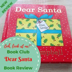 Ooh, look at me! - Christmas Book Club - Book Review Dear Santa by Rod Campbell