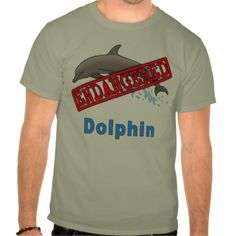 Endangered Dolphin Products Tee Shirt
