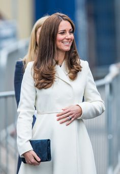 Kate Middleton's baby bump was on display during her latest appearance!