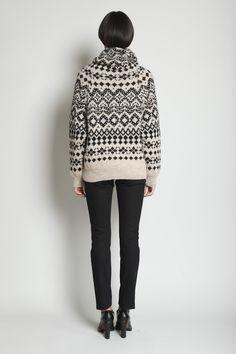 Totokaelo - Yohji Yamamoto - Long Pattern Knit - Beige