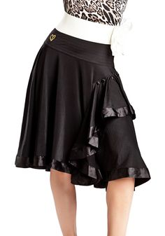 Gio Mio Scarlet Latin Dance Skirt