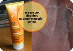 The Body Shop Vitamin C Microdermabrasion Review  http://maliberrymakeup.blogspot.co.uk/2015/01/the-body-shop-vitamin-c.html