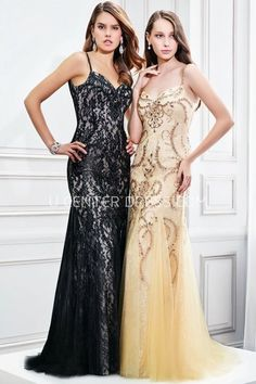 $135.09-Chic Sheath Sleeveless Beaded Spaghetti Tulle Sheath Evening Gown with Spaghetti Straps. http://www.ucenterdress.com/sheath-sleeveless-beaded-spaghetti-tulle-prom-dress-pMK_300335.html.  Shop for affordable evening gowns, prom dresses, white dresses, party dresses for women, little black dresses, long dresses, casual dresses, designer dresses, occasion dresses, formal gowns, cocktail dresses . We have great 2016 Evening Gowns on sale now. #evening #gowns
